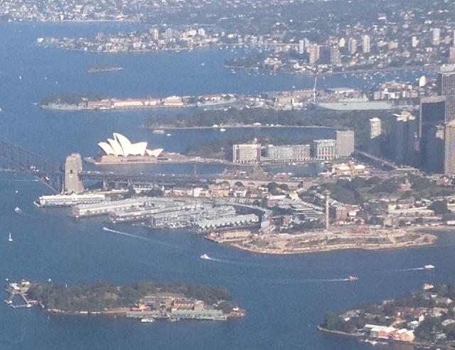 2 opera house aerial